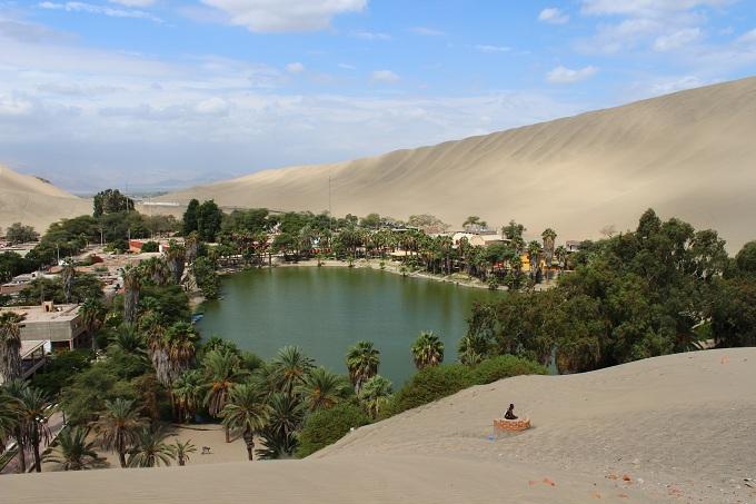 The desert in Peru