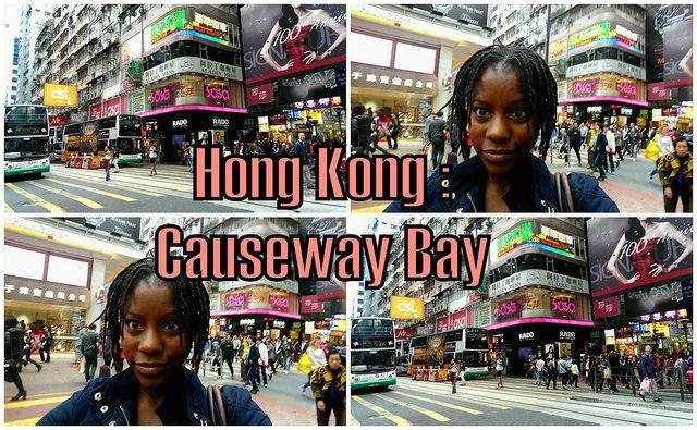 Hong Kong vlog: Causeway Bay