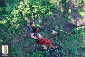 That time I jumped off a bridge: Victoria Falls Bridge Swing
