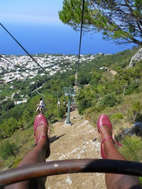 chair lift capri