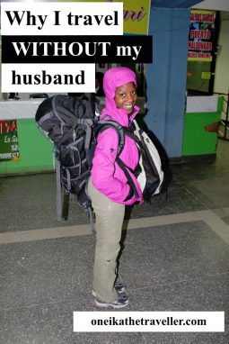 why i travel without my husband pin