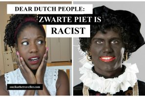 zwarte piet is racist blackface